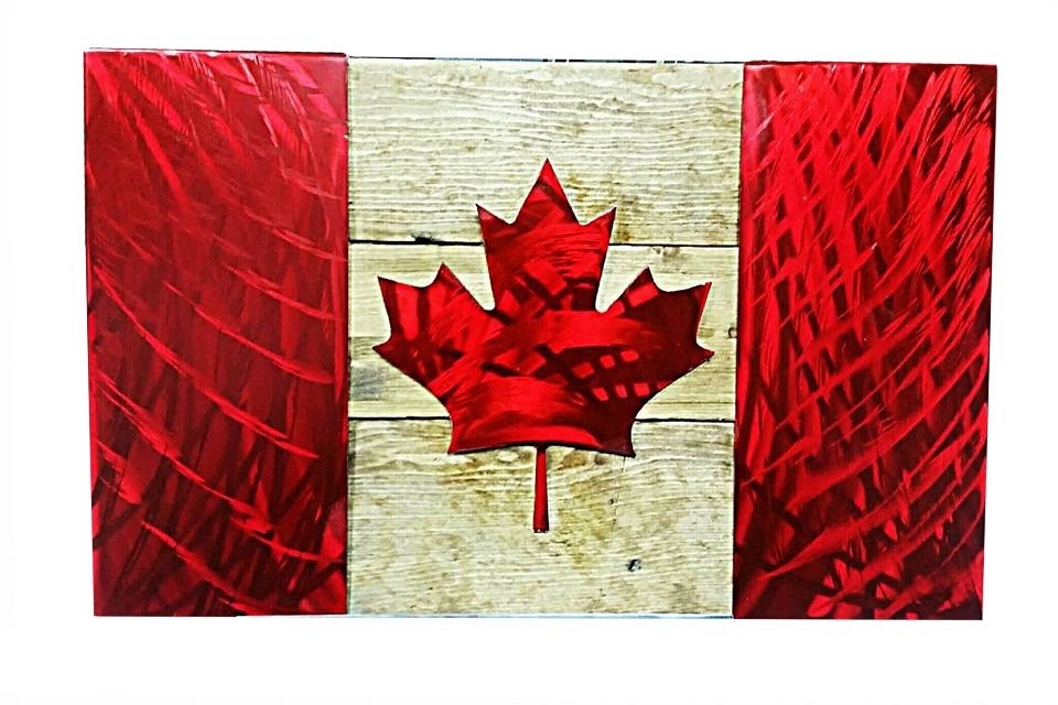 Photo Credit: http://hallmetalart.ca/product/canadian-flag/