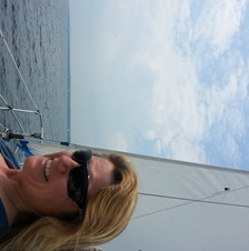 sandy-enjoys-sailing