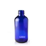 Bottle - Blue Glass
