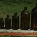 Bottles - Amber Glass